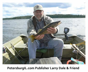 Larry Dale and Walleye