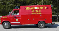 Menard Rescue Squad Dive Team Truck